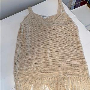 Women's crochet tank